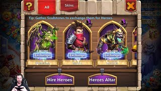 Rolling 40k For DOVE Keeper 350k Might Essa Castle Clash