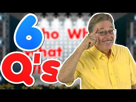 Six Questions Rap  Jack Hartmann