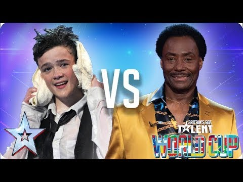 George Sampson Vs Donchez Dacres | Britain's Got Talent World Cup 2018