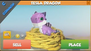 ❤ How to breed TESLA dragon. Dragon Mania Legends. TESLA dragon hatched
