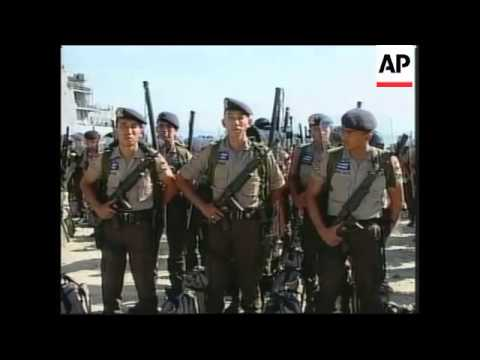 INDONESIA: EAST TIMOR: MORE POLICE TROOPS ARRIVE