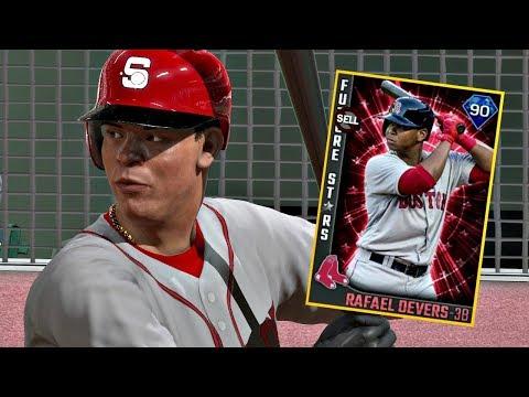 DIAMOND RAFAEL DEVERS DEBUT!! MLB The Show 17 Diamond Dynasty