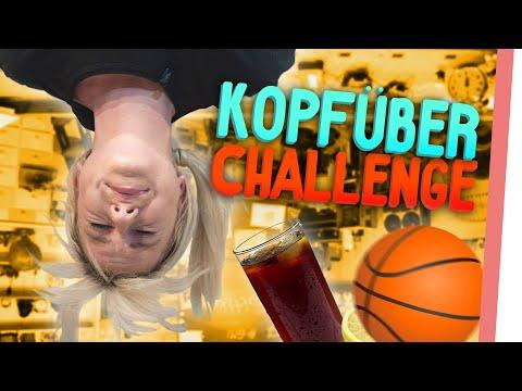 UPSIDE DOWN Challenge | Kelly & Sturmwaffel kommen an ihre Grenzen!