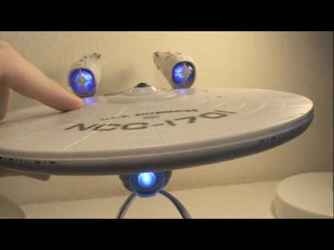 star trek 2009 movie uss enterprise toy review youtube