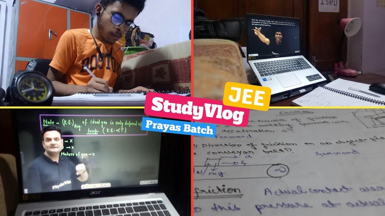 Download StudyLife of Prayas Batch Student physics wallah // Jee Dropper // Study Vlog - 01 2022