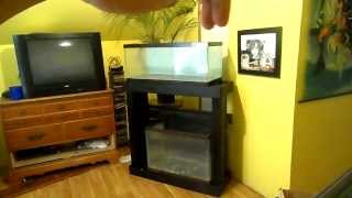 Staining Aquarium Stand Black 20 Gallon Reef Build Part 3