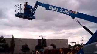 Телескопический подъемник Genie S 65(Телескопический подъемник Genie S 65 – это качественная и недорогая техника, предназначенная для проведения..., 2014-09-05T14:04:05.000Z)
