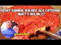 - RESEP SAMBAL BALADO SERBAGUNA ALA CATERING - AWET SAMPAI 6 BULAN !