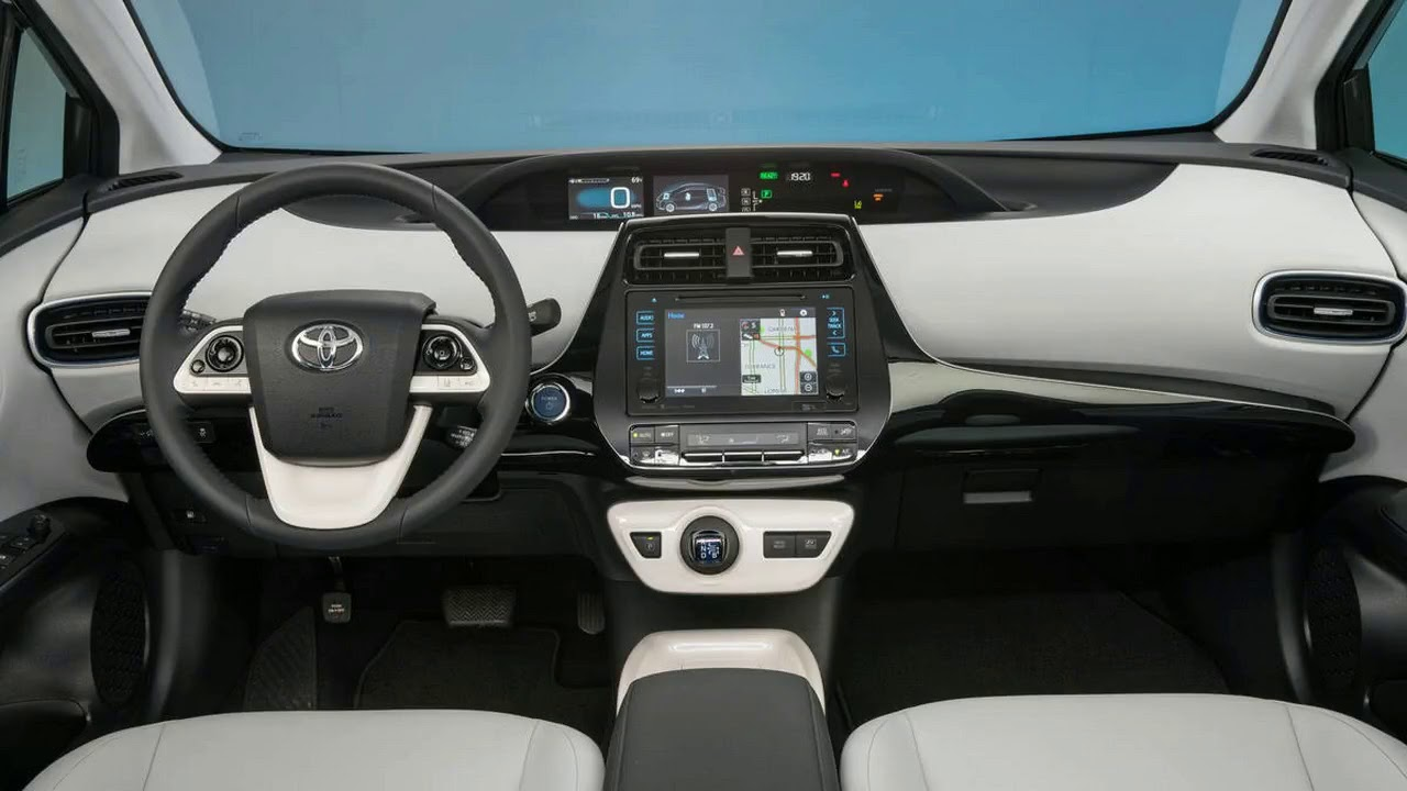 2017 Toyota Prius Interior >> New 2017 Toyota Prius Interior And Exterior Youtube