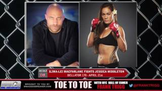 Frank Trigg interviews Bellator 178's Ilima-Lei Macfarlane