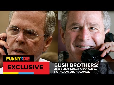 Jeb Bush Calls George W. For Campaign Advice