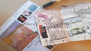 여행다이어리 쓰는 5가지 방법 (+Eng Na) My Travel Journal, 여행브이로그