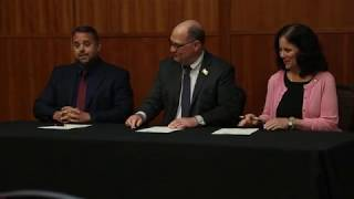 KU Signs Dual Enrollment Agreement with Local School Districts