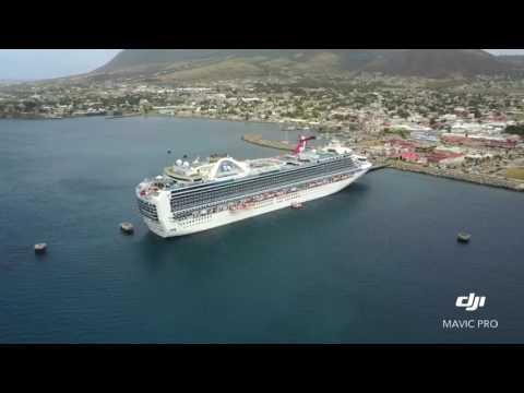 St Kitts Cruise Ship POI DJI Mavic Pro Drone