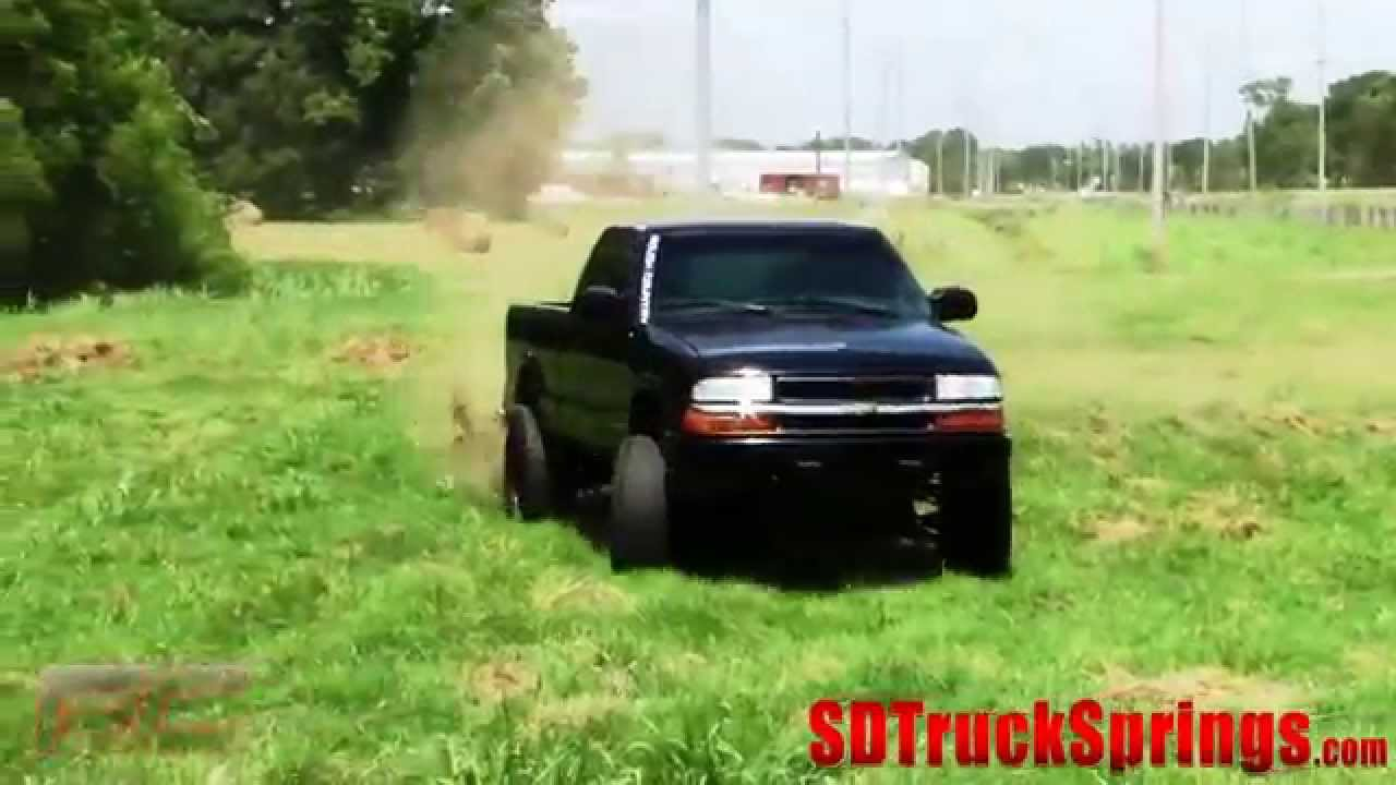 hight resolution of s10 lift kit rough country 6 inch 94 2003 chevy gmc tutorial and review youtube