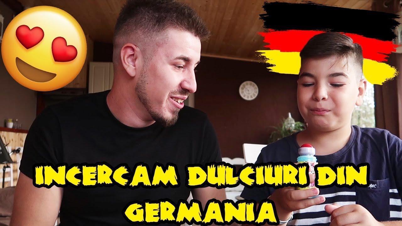 Andy Si Iustinel INCEARCA DULCIURI DIN GERMANIA!