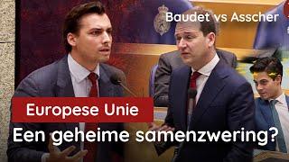 Nu gaande! Het grote EU debat! Baudet vs Asscher!