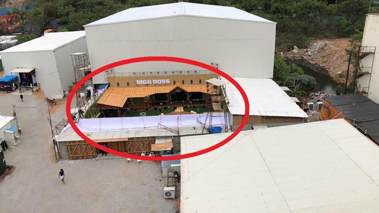 Bigg Boss 2 House Set Outside View Pics