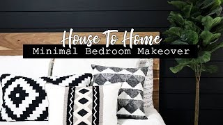 EXTREME BEDROOM MAKEOVER! || Minimal Master Bedroom