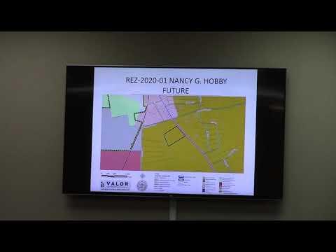 15. REZ-2020-01 Nancy Hobby, 2626 Loch Laurel Rd., 10 ac., R-1 to E- A