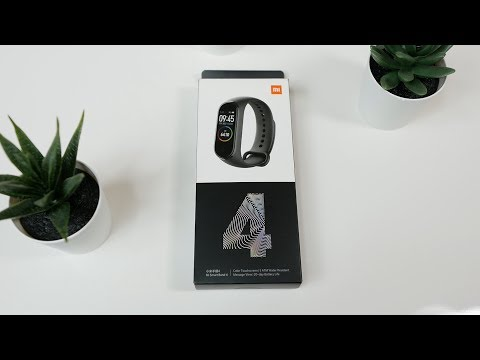 Xiaomi Mi Smart Band 4 unboxing and hands on