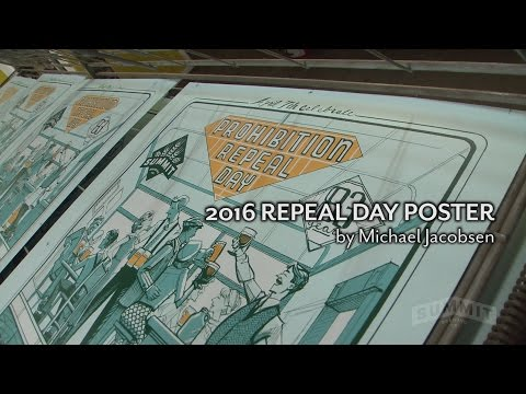 Summit's 2016 Repeal Day Poster by Michael Jacobsen