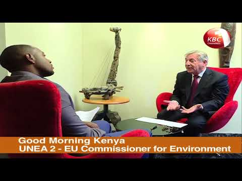 Good Morning Kenya - EU Commissioner for environment