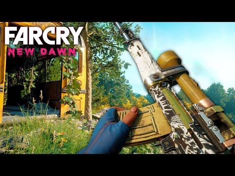 Far Cry New Dawn - EXPLORING, SHOPS & INSANE CUSTOM WEAPONS    Far Cry New Dawn Free Roam (#1) thumbnail