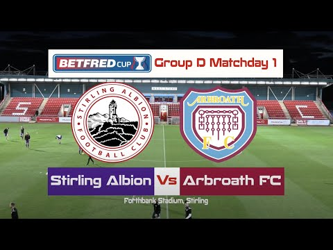 Stirling Arbroath Goals And Highlights