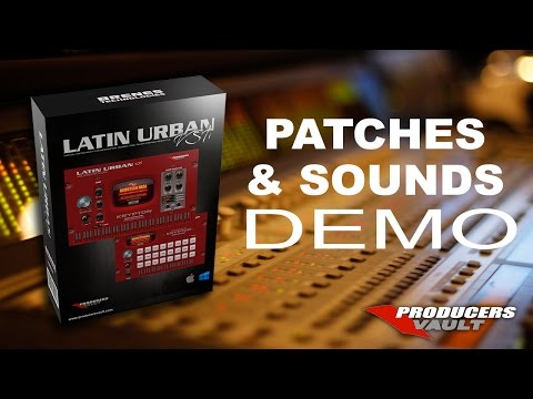 Latin Urban VSTi Patch Demos ejemplo de los sonidos que contiene