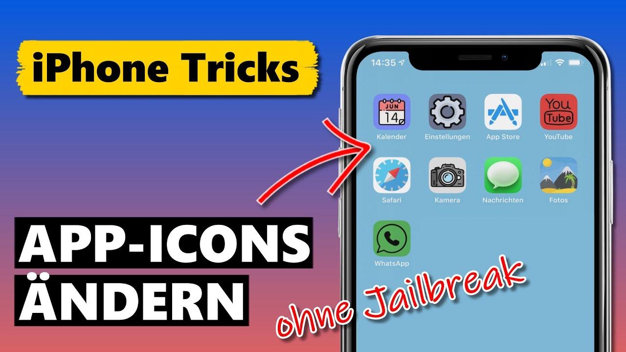 App Icons ändern auf dem iPhone 📱 (ohne Jailbreak)