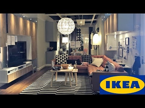 IKEA LIVING ROOM IDEAS MODERN STYLE FURNITURE HOME DECOR SHOP WITH ME SHOPPING STORE WALK THROUGH 4K