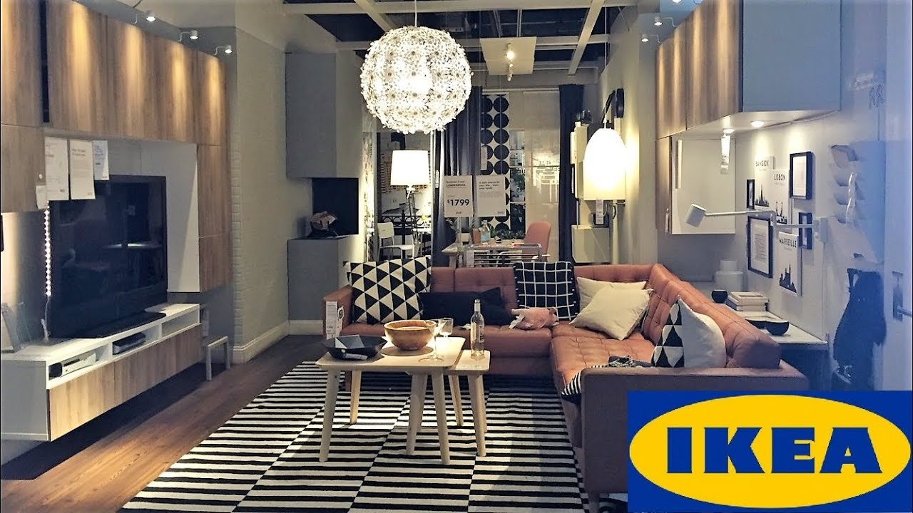 Ikea Living Room Ideas Modern Style Furniture Home Decor Shop With Me Shopping Store Walk Through 4k Youtube