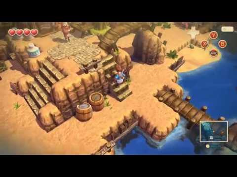 9 Minutes of Oceanhorn Gameplay - PAX West 2016