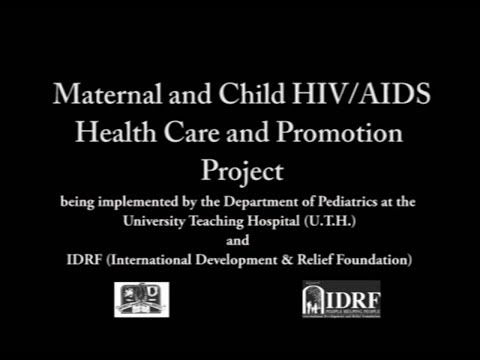IDRF Maternal/Child HIV Health Care & Promotion project in Zambia