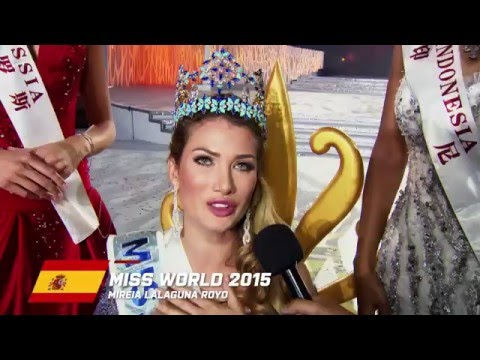 MW2015 - Miss World's First Interview!
