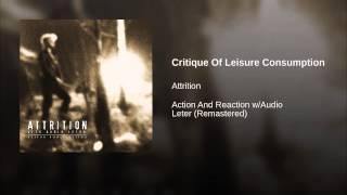 Critique Of Leisure Consumption