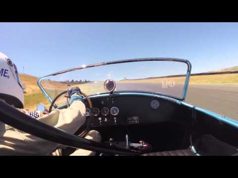 2014 Sonoma Historics on board (GoPro) a 1964 Shelby Cobra 289 F.I.A. Competition Car