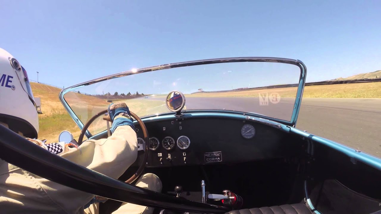 2014 sonoma historics on board gopro a 1964 shelby cobra 289 f i a competition car youtube