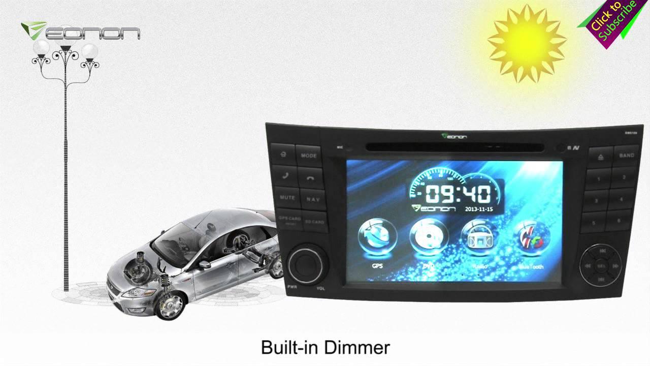 Eonon GM5159 Mercedes-Benz Car DVD GPS with Screen Mirroring & Dual Can Bus  & & NFC URC(Exclusive)