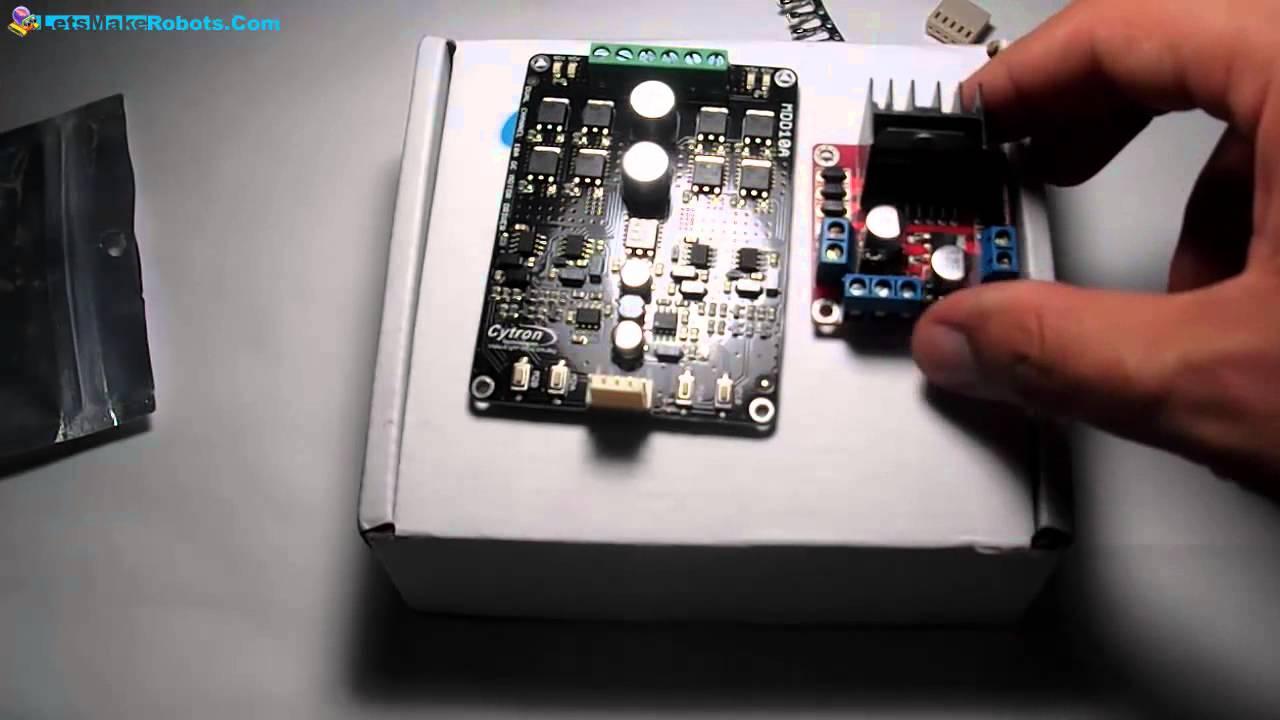 10A Dual Channel Bi-directional DC Motor Driver 30A peak 5-25V