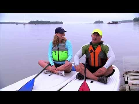 L.L.Bean: Weather Channel Team takes on Paddleboarding