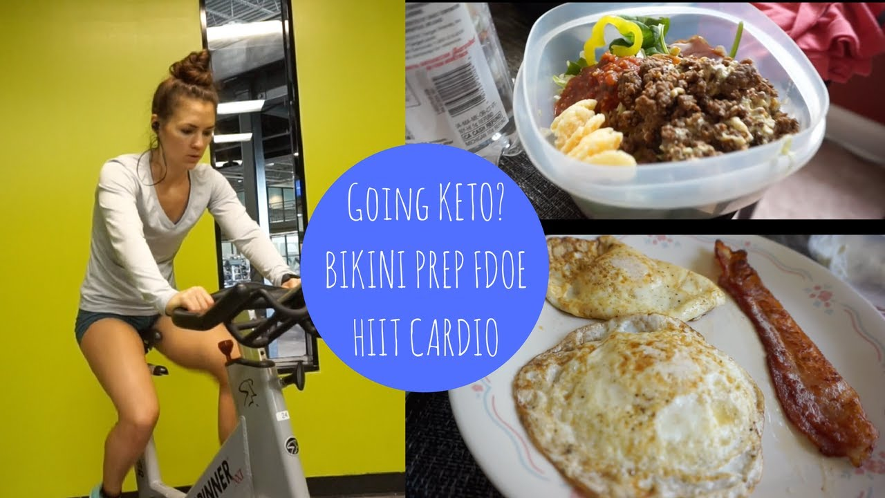 keto competition prep diet