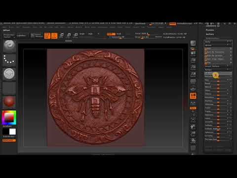 HOW TO USE ALPHA CHANNEL IN Z BRUSH AND MAKE A MOLD