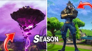 Fortnite Season 6 First Look - VOLCANO ISLAND & BATTLE PASS TIER 100 SKIN