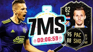 THE HARDEST EPISODE YET!! 95 PACE 88 SHOT ORSIC 7 MINUTE SQUAD BUILDER!! FIFA 20 ULTIMATE TEAM
