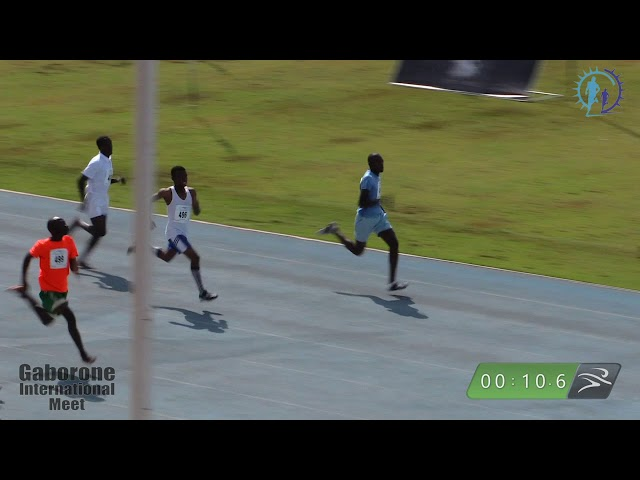 Men 100m Final (SO) Classic