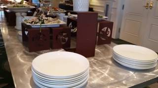 Обед - банкет в Ритц-Карлтон (Ritz-Carlton), Орландо, Флорида, США