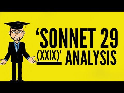 Elizabeth Barrett Browning: 'Sonnet  29 (XXIX)' Mr Bruff Analysis