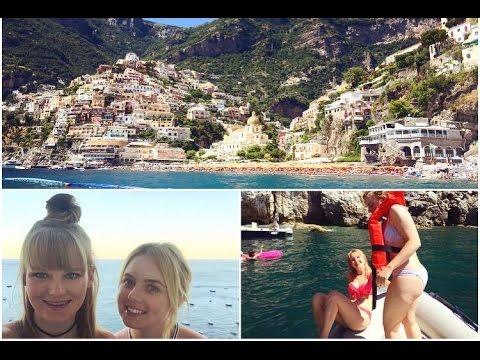 Beautiful Positano Boat Trip in Amalfi & Kissing the Captain?!?